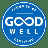 GoodWell Certified Blue Logo